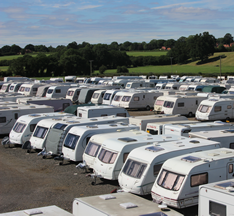 Affordable, secure, caravan storage.
